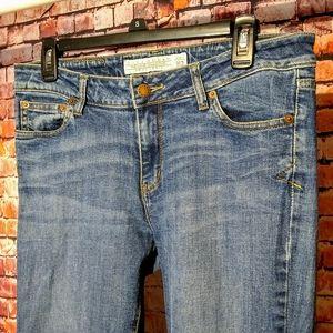Zara Sz 8 Premium Collection Aged Denim Jeans